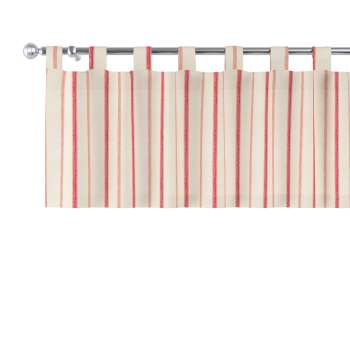 Trumpa užuolaidėlė (lambrekenas) kilpinis klostavimas 130x40cm kolekcijoje Avinon, audinys: 129-15