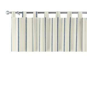 Trumpa užuolaidėlė (lambrekenas) kilpinis klostavimas 130x40cm kolekcijoje Avinon, audinys: 129-66