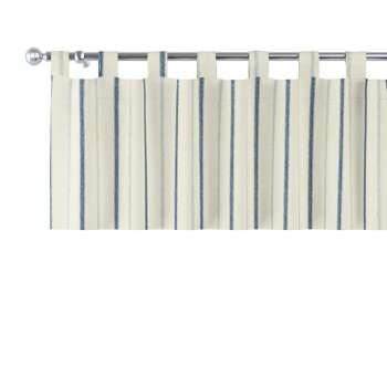 Kurzgardine mit Schlaufen 130x40cm von der Kollektion Avinon, Stoff: 129-66