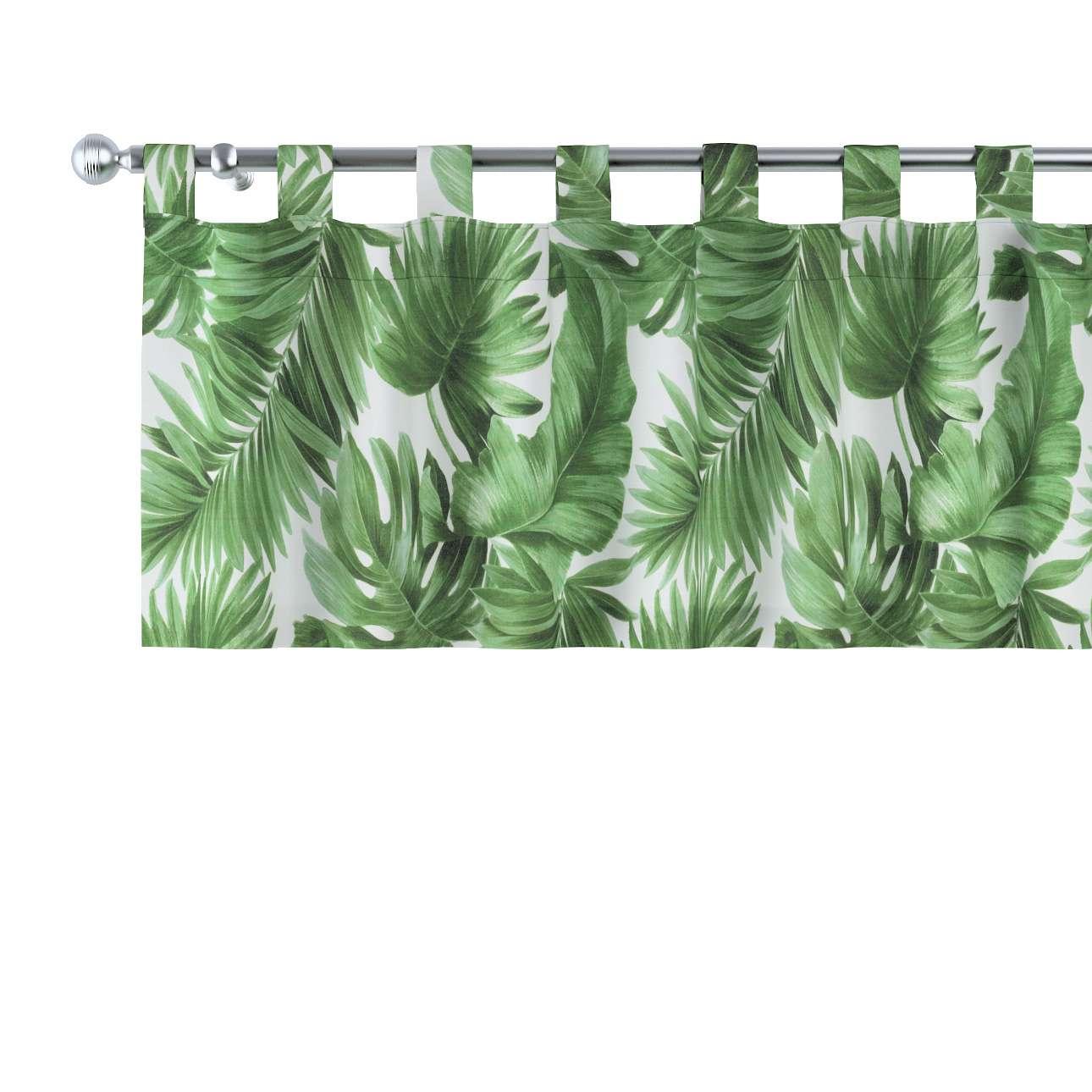 Gardinkappa med hällor 130 × 40 cm i kollektionen Urban Jungle, Tyg: 141-71