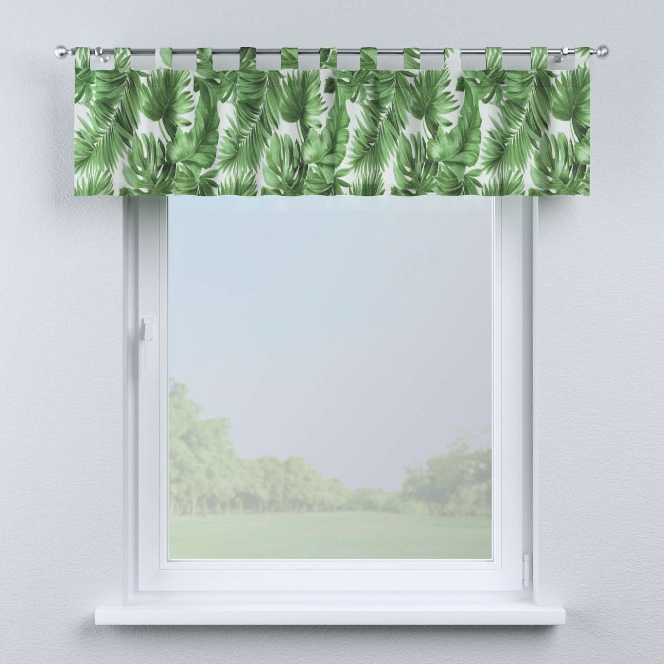 Lambrekin na szelkach w kolekcji Urban Jungle, tkanina: 141-71
