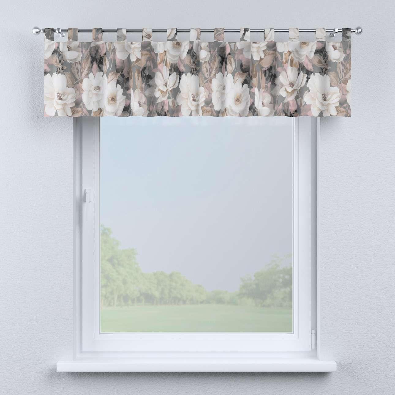 Lambrekin na szelkach w kolekcji Gardenia, tkanina: 142-13