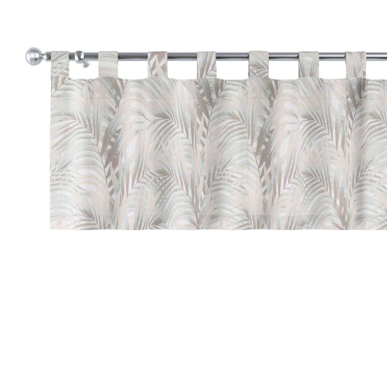 Gardinkappe med stropper fra kolleksjonen Gardenia, Stoffets bredde: 142-14