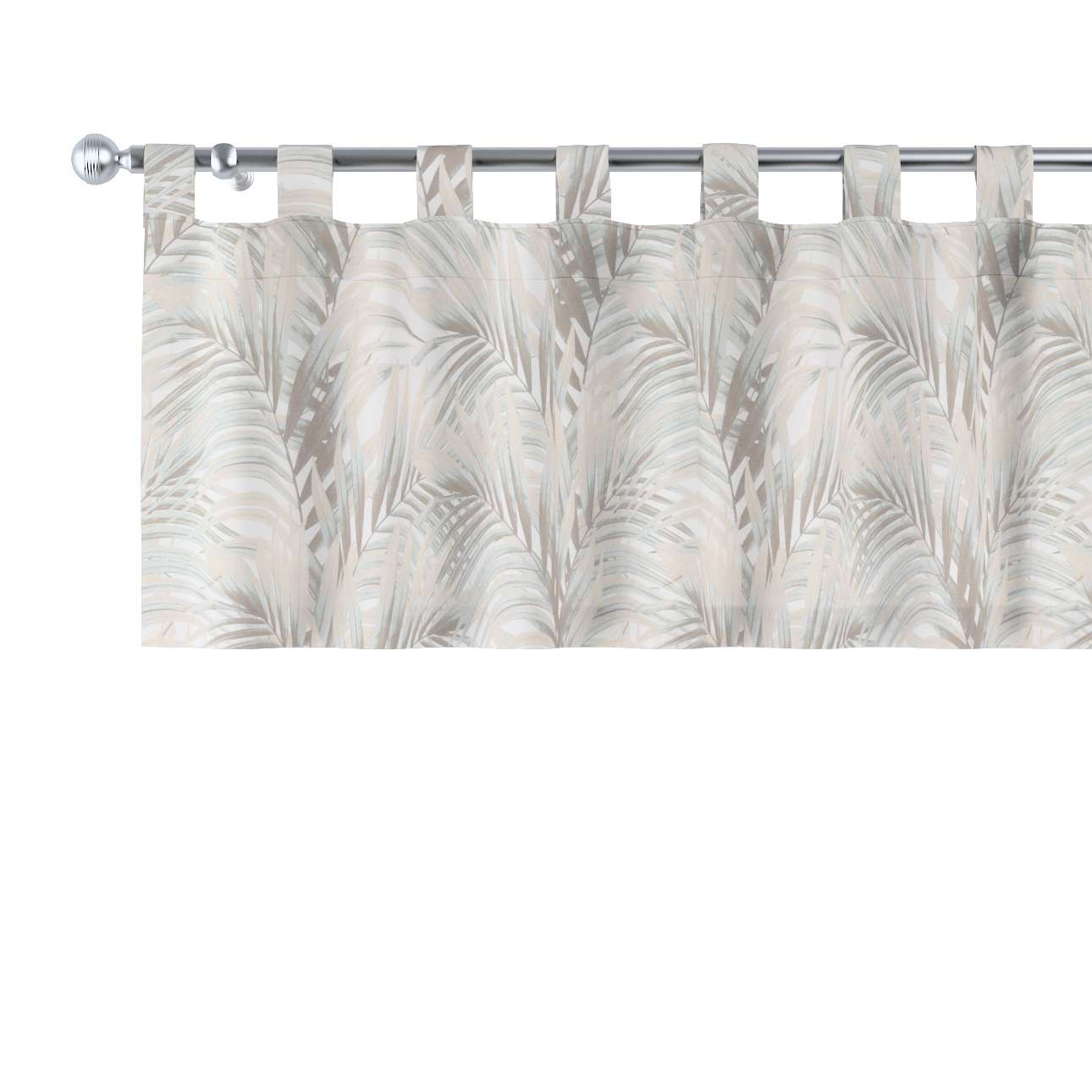 Kurzgardine mit Schlaufen, beige-creme, 260 × 40 cm, Gardenia