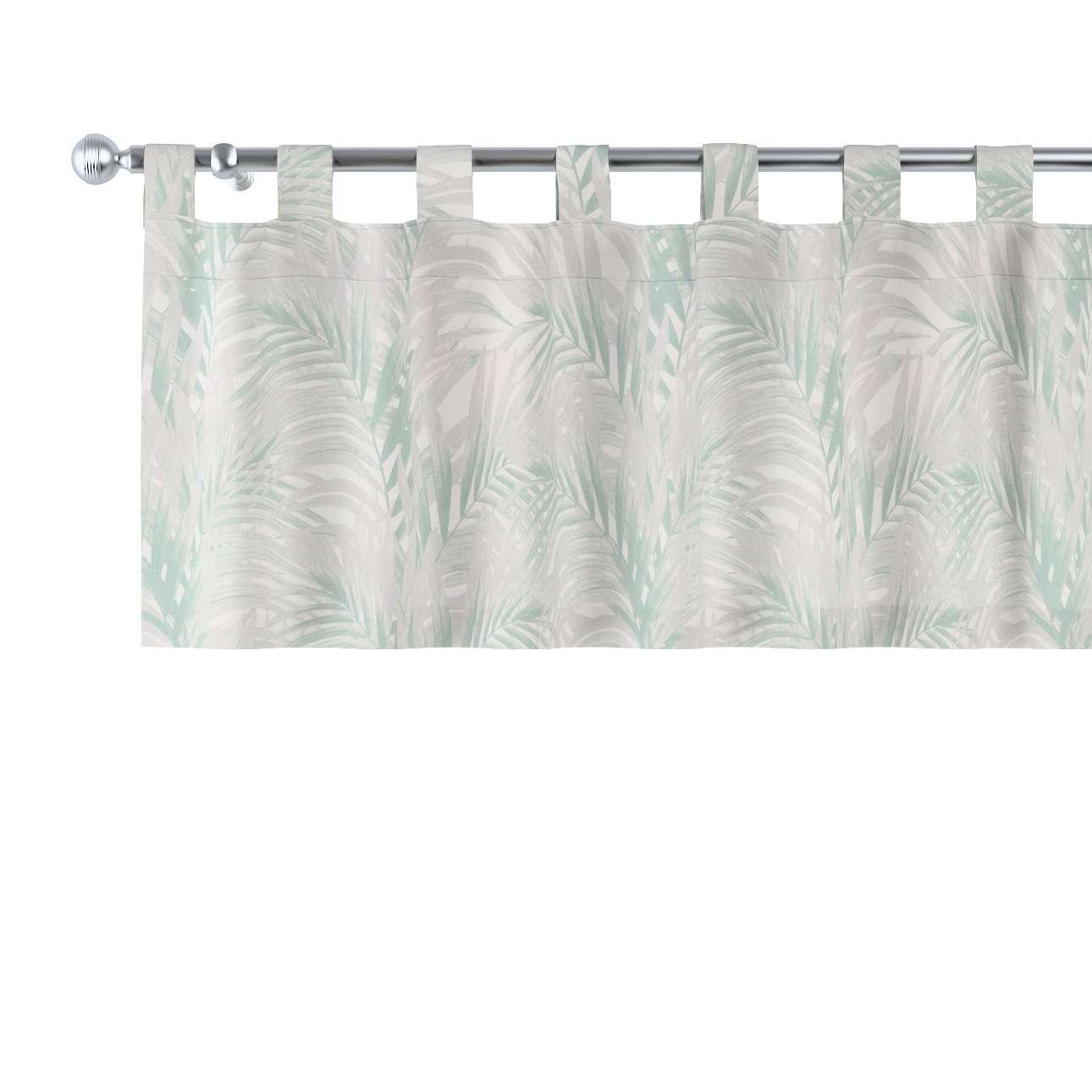 Gardinkappa med hällor 130 × 40 cm i kollektionen Gardenia, Tyg: 142-15