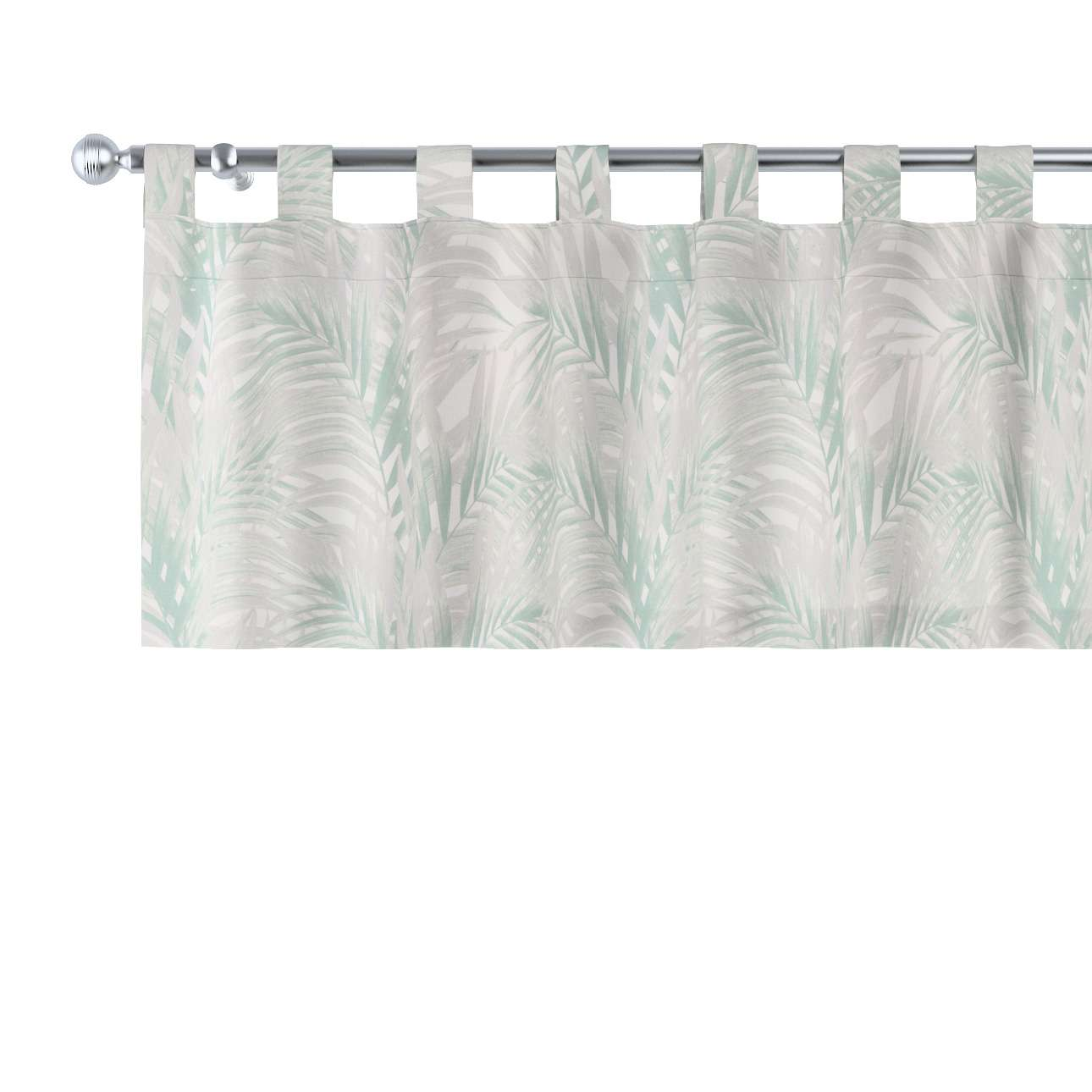 Kurzgardine mit Schlaufen von der Kollektion Gardenia, Stoff: 142-15