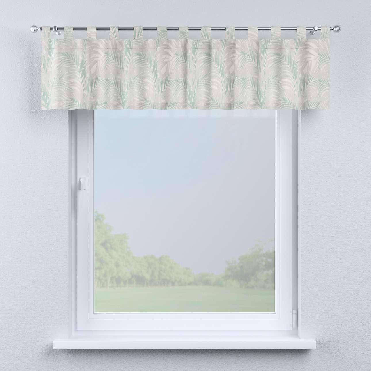 Lambrekin na szelkach w kolekcji Gardenia, tkanina: 142-15