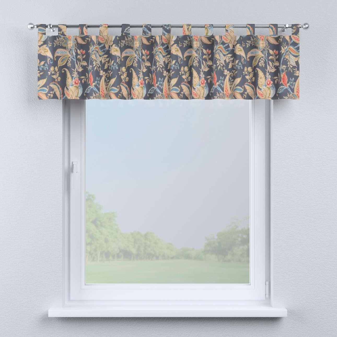 Krátky záves na pútkach V kolekcii Gardenia, tkanina: 142-19
