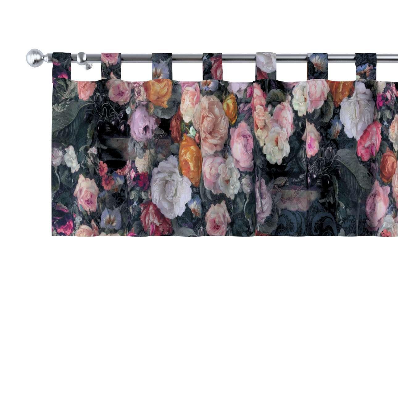 Kurzgardine mit Schlaufen von der Kollektion Gardenia, Stoff: 161-02