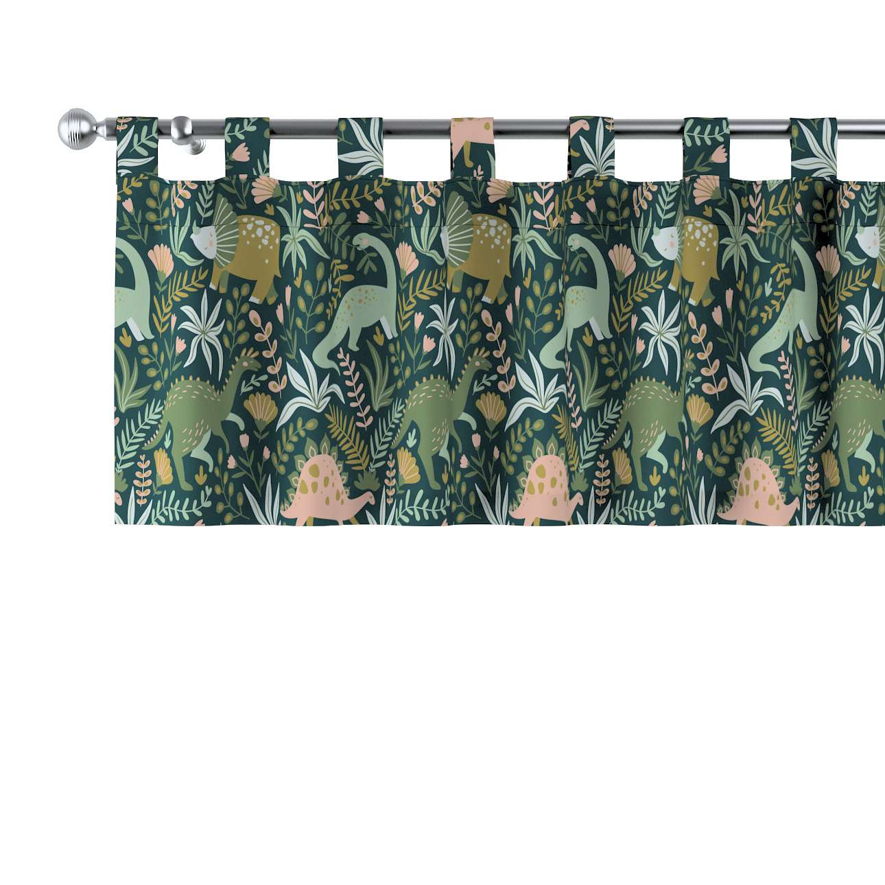 Lambrequin with loops in collection Magic Collection, fabric: 500-20