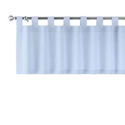 Záclonka na poutkách 133-35 pastelově modrá Kolekce Happiness