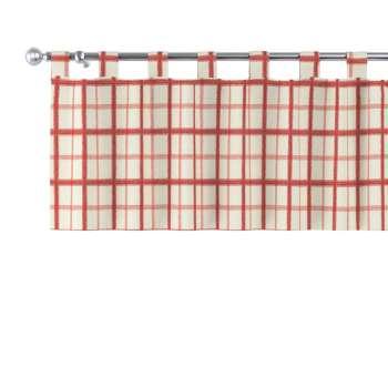 Gardinkappe med stropper fra kolleksjonen Avinon, Stoffets bredde: 131-15