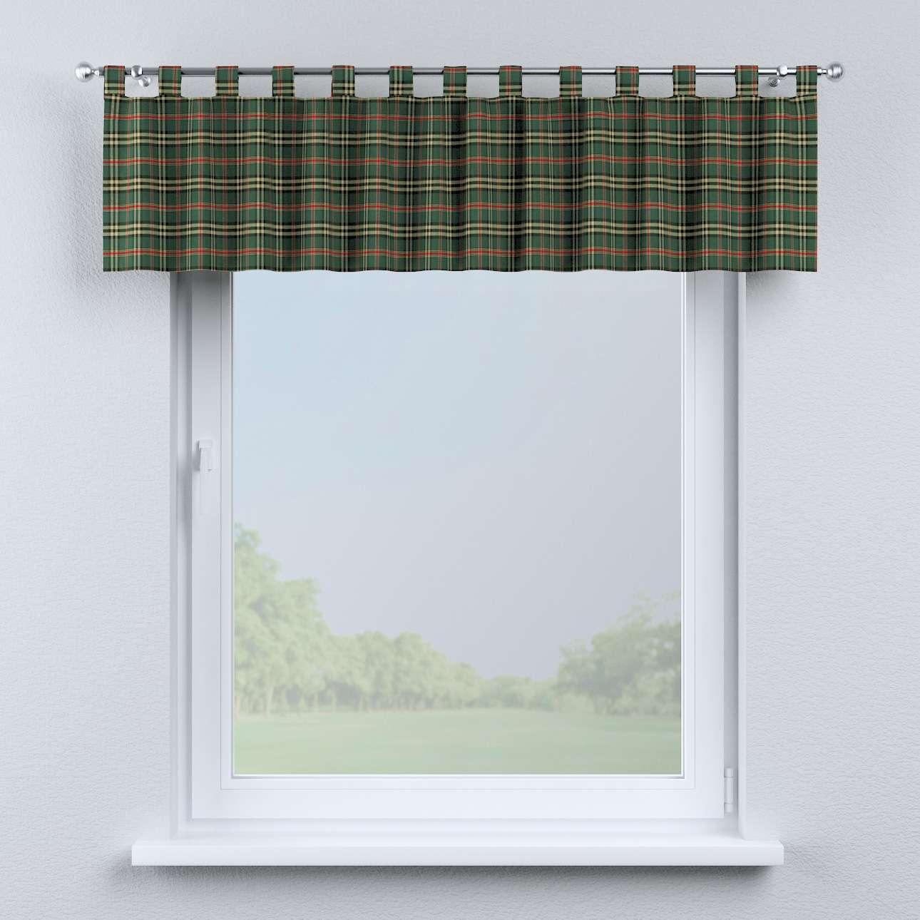 Krátky záves na pútkach V kolekcii Bristol, tkanina: 142-69