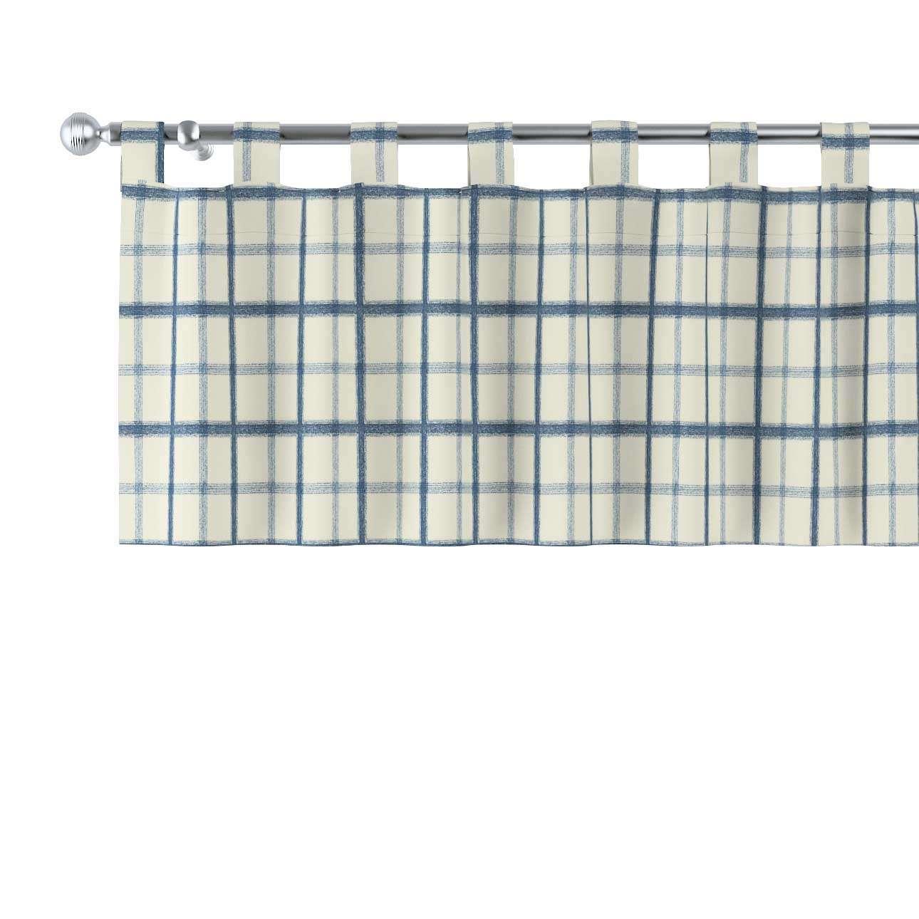 Kurzgardine mit Schlaufen 130x40cm von der Kollektion Avinon, Stoff: 131-66