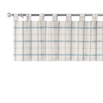Gardinkappa med hällor 130x40cm i kollektionen Avinon, Tyg: 131-66