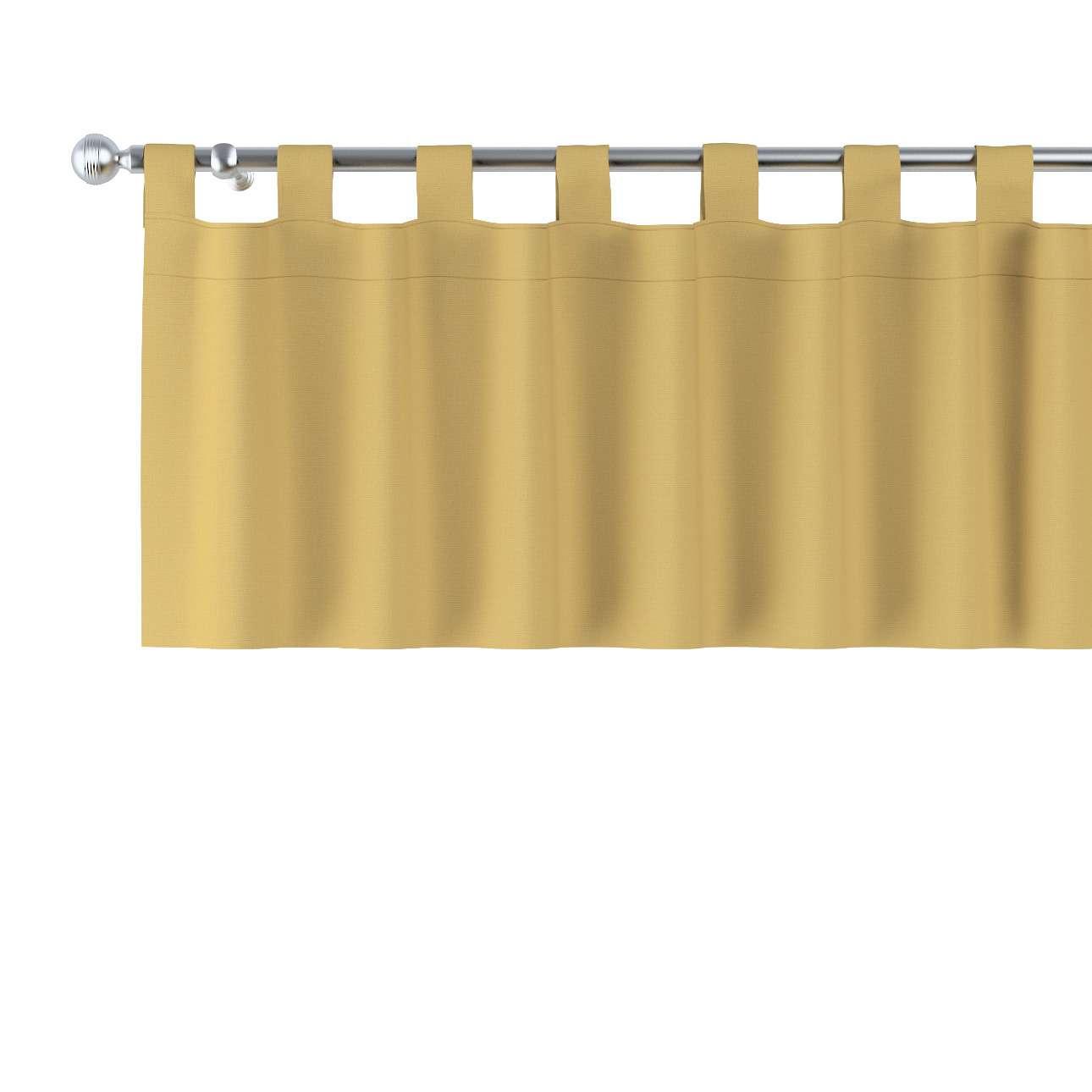 Krátky záves na pútkach V kolekcii Cotton Panama, tkanina: 702-41