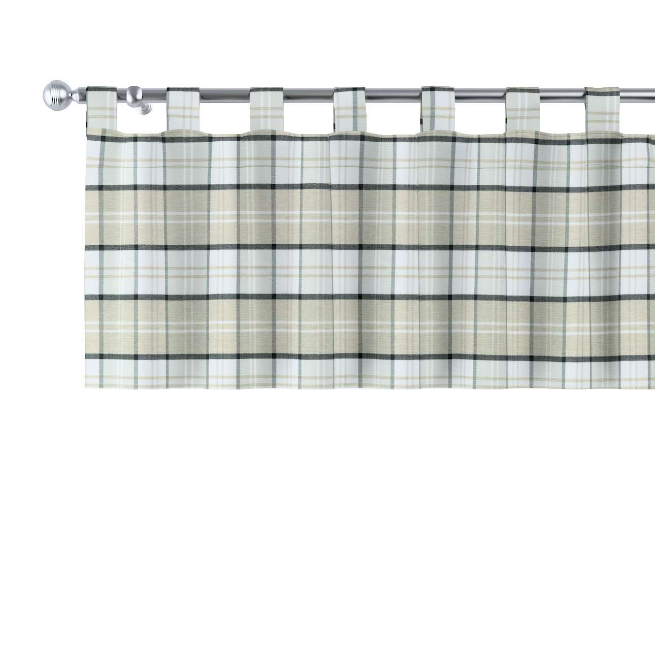 Lambrekin na szelkach w kolekcji Bristol, tkanina: 143-64