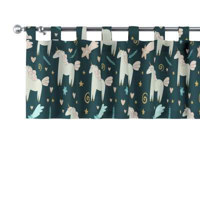 Schabracke mit Schlaufen 500-43 niebieski Kollektion Magic Collection