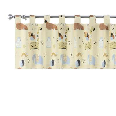 Lambrekin na szelkach 500-46 beżowy Kolekcja Magic Collection