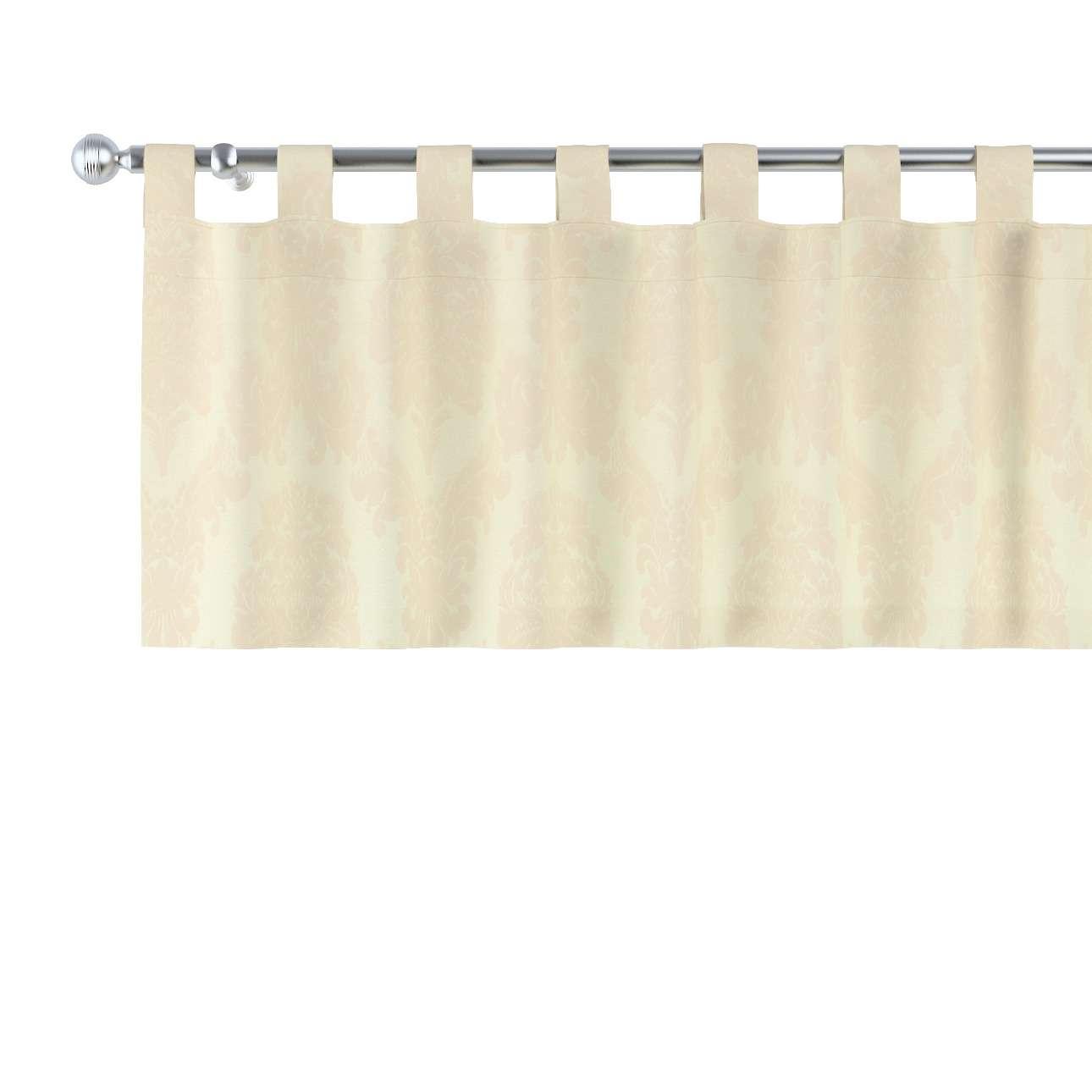 Lambrekin na szelkach 130x40cm w kolekcji Damasco, tkanina: 613-01