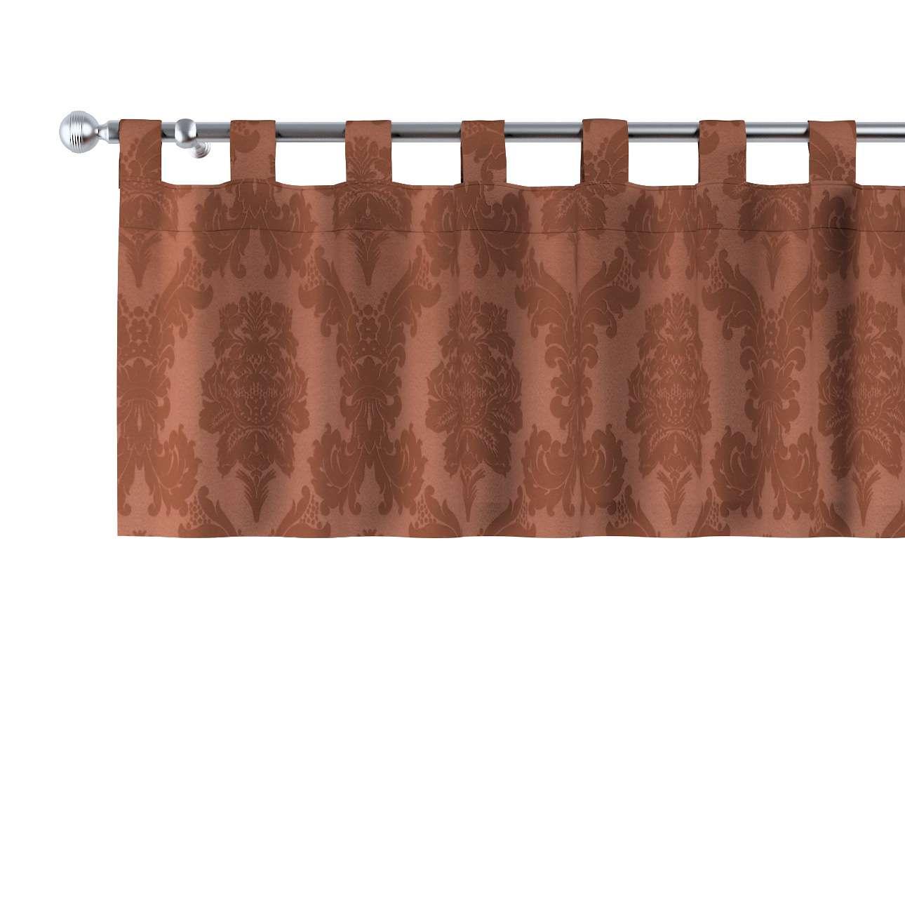 Gardinkappe med stropper 130 × 40 cm fra kollektionen Damasco, Stof: 613-88