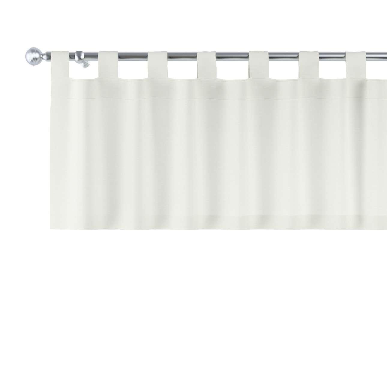 Gardinkappe med stropper 130x40cm fra kolleksjonen Jupiter, Stoffets bredde: 127-00
