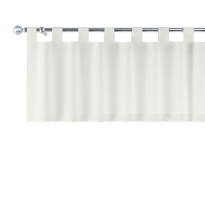 Kurzgardine mit Schlaufen von der Kollektion Jupiter, Stoff: 127-00