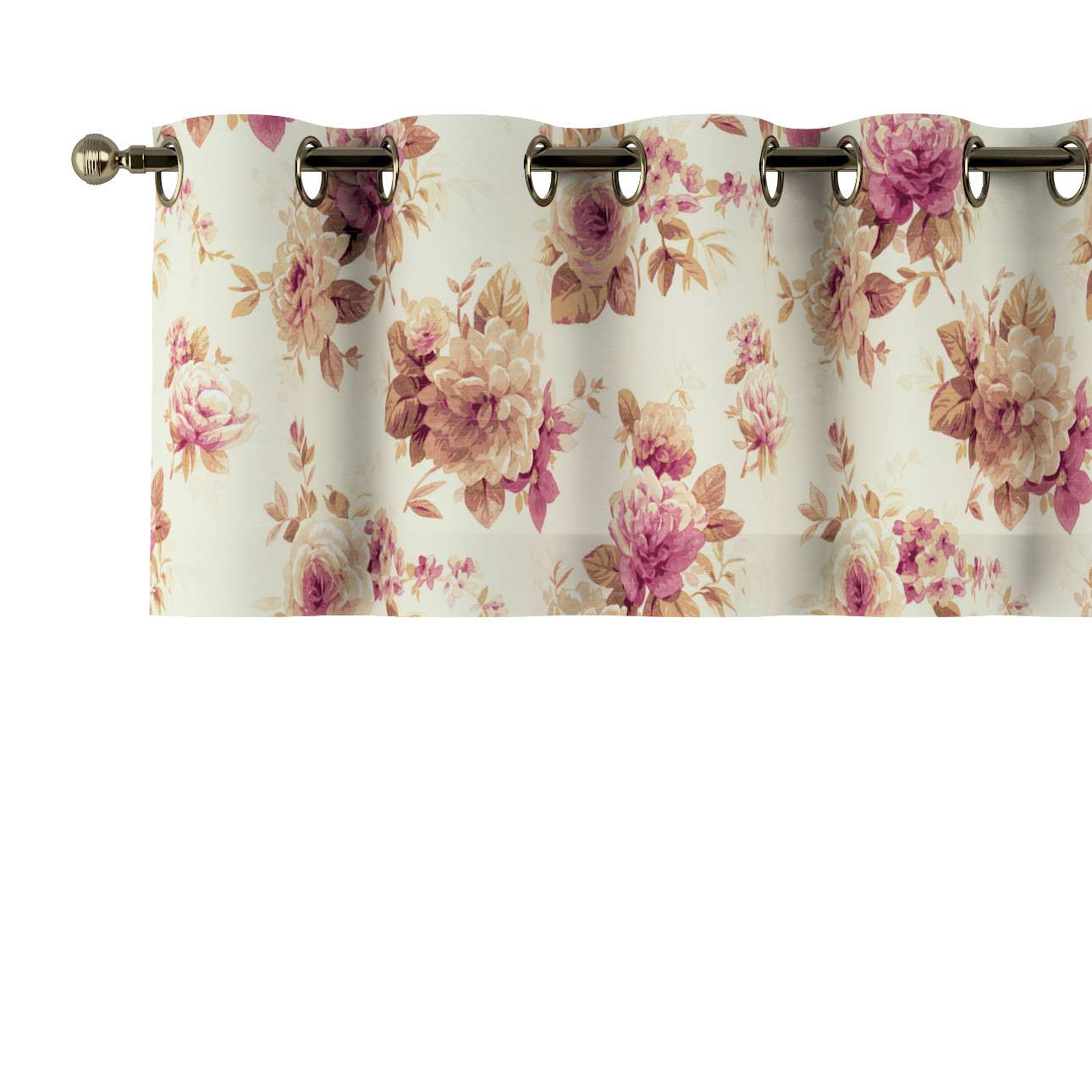 Krátky záves na kolieskach V kolekcii Londres, tkanina: 141-06