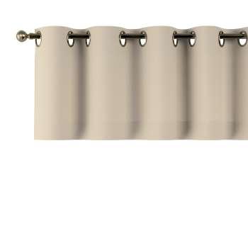Gardinkappa med öljetter i kollektionen Panama Cotton, Tyg: 702-01