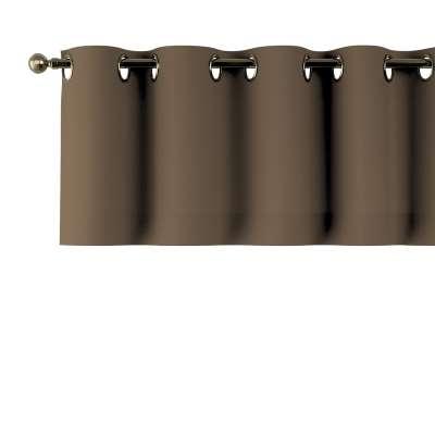 Gardinkappe med kovser 702-02 Mellembrun Kollektion Cotton Panama