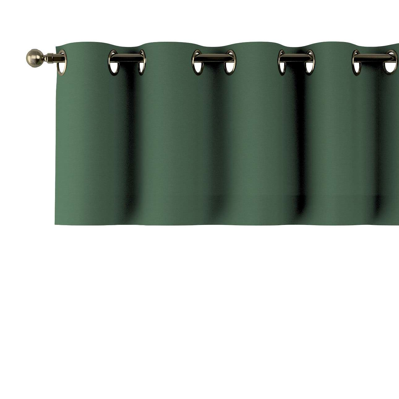 Kurzgardine mit Ösen 130x40cm von der Kollektion Cotton Panama, Stoff: 702-06