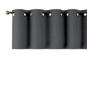 Trumpa užuolaidėlė (lambrekenas) žiedinis klostavimas 130x40cm kolekcijoje Chenille, audinys: 702-20