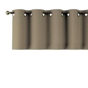 Trumpa užuolaidėlė (lambrekenas) žiedinis klostavimas 130x40cm kolekcijoje Chenille, audinys: 702-21