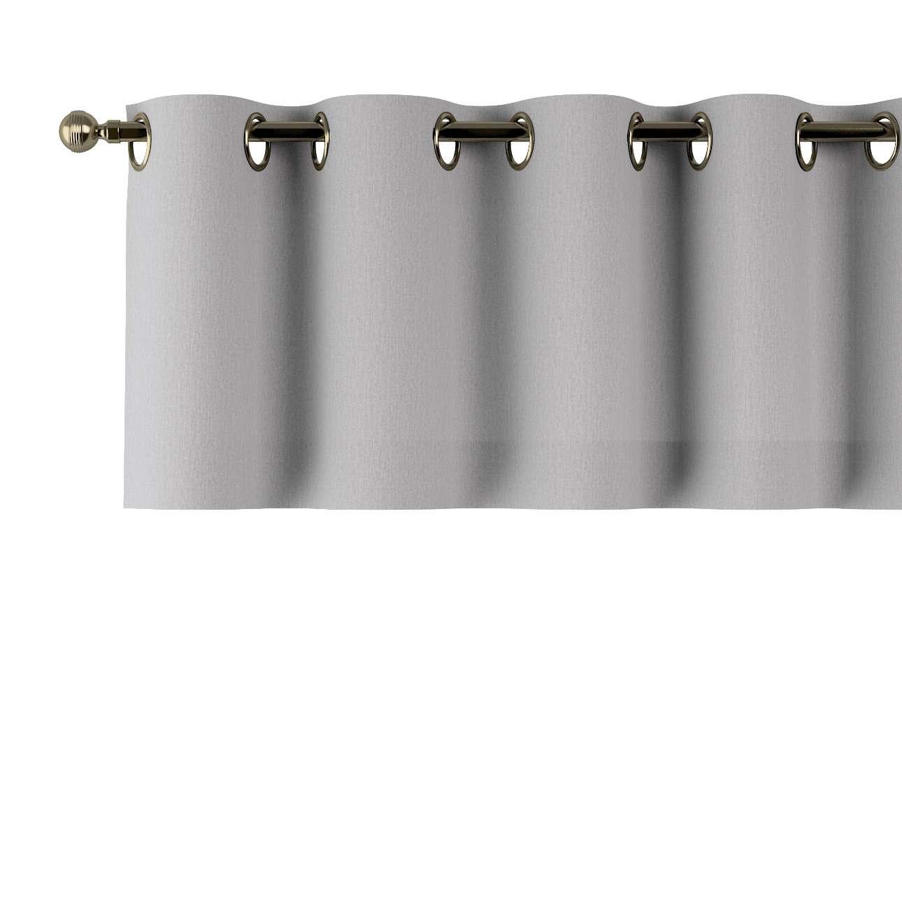 Trumpa užuolaidėlė (lambrekenas) žiedinis klostavimas 130x40cm kolekcijoje Chenille, audinys: 702-23