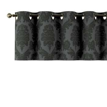 Kurzgardine mit Ösen 130x40cm von der Kollektion Damasco, Stoff: 613-32