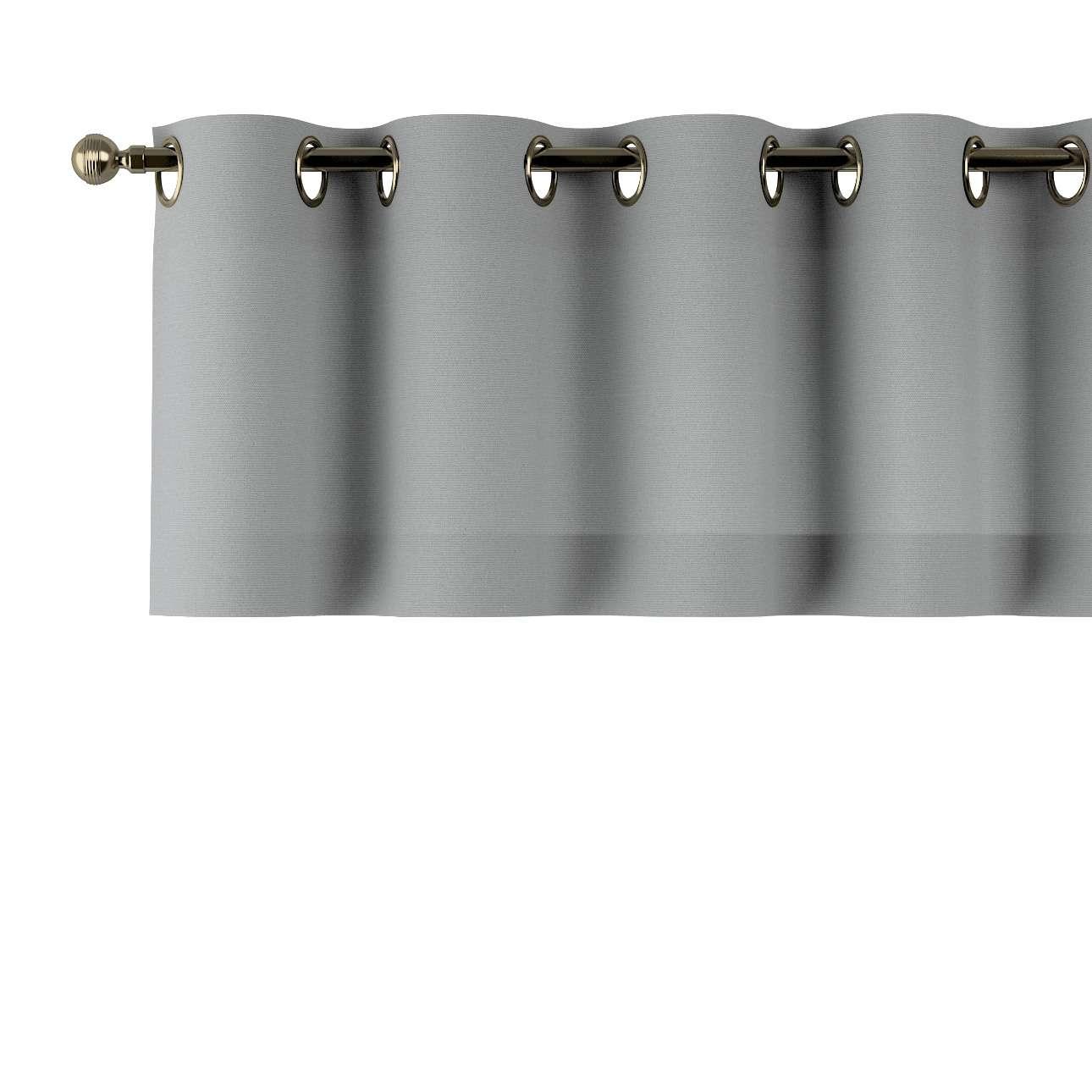 Trumpa užuolaidėlė (lambrekenas) žiedinis klostavimas 130x40cm kolekcijoje Loneta , audinys: 133-24