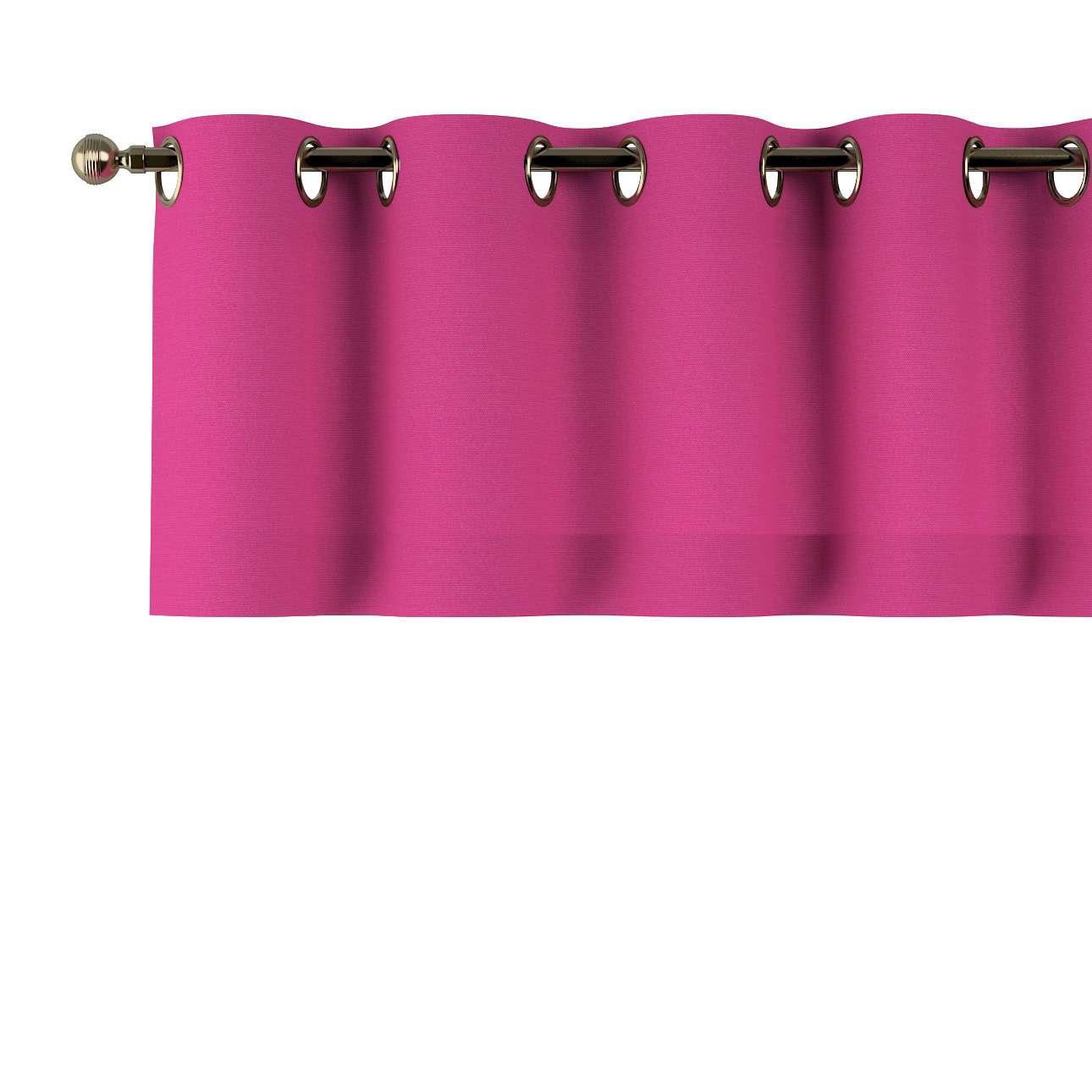 Kurzgardine mit Ösen von der Kollektion Loneta, Stoff: 133-60