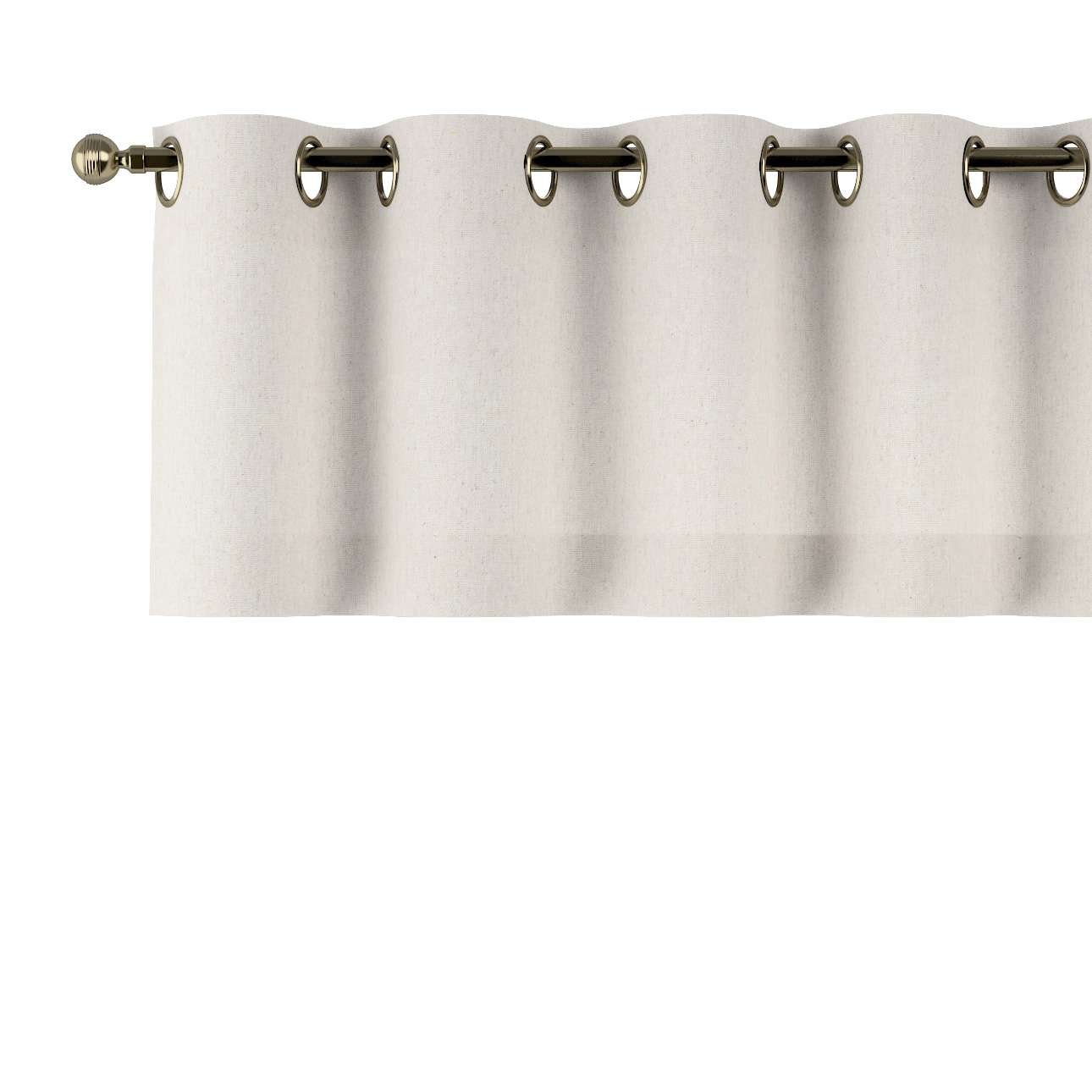 Gardinkappa med öljetter 130x40cm i kollektionen Loneta , Tyg: 133-65