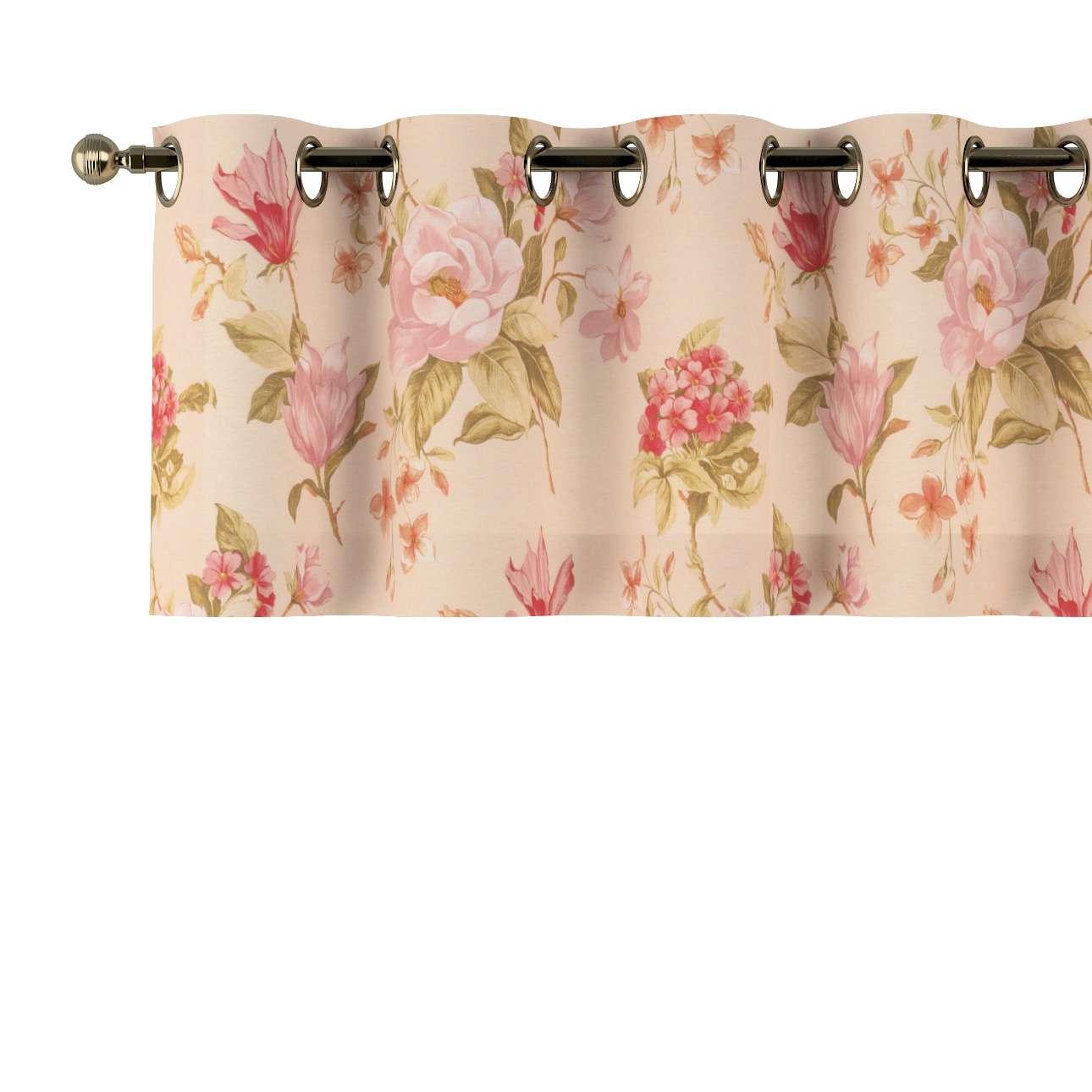 Lambrekin na kółkach 130x40cm w kolekcji Londres, tkanina: 123-05
