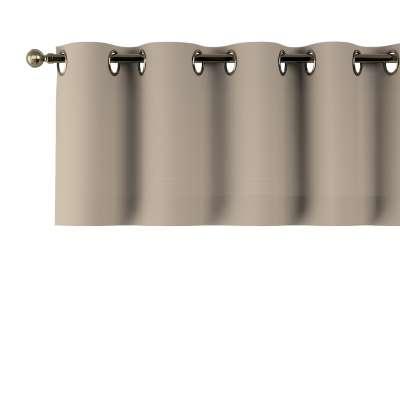 Gardinkappe med kovser 702-28 Sandfarvet Kollektion Cotton Panama