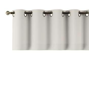 Kurzgardine mit Ösen 130x40cm von der Kollektion Cotton Panama, Stoff: 702-31