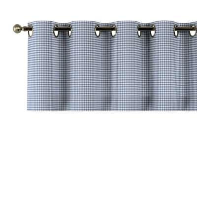 Kurzgardine mit Ösen von der Kollektion Quadro, Stoff: 136-00