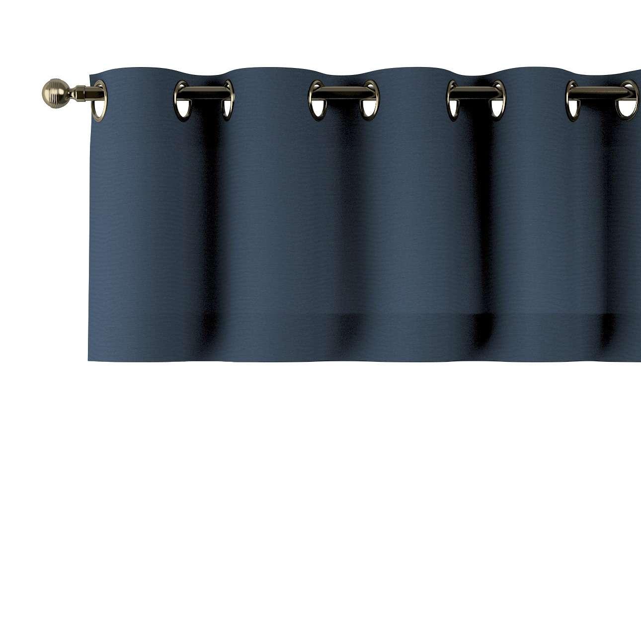 Kurzgardine mit Ösen 130x40cm von der Kollektion Quadro, Stoff: 136-04