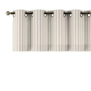 Kurzgardine mit Ösen von der Kollektion Quadro, Stoff: 136-07