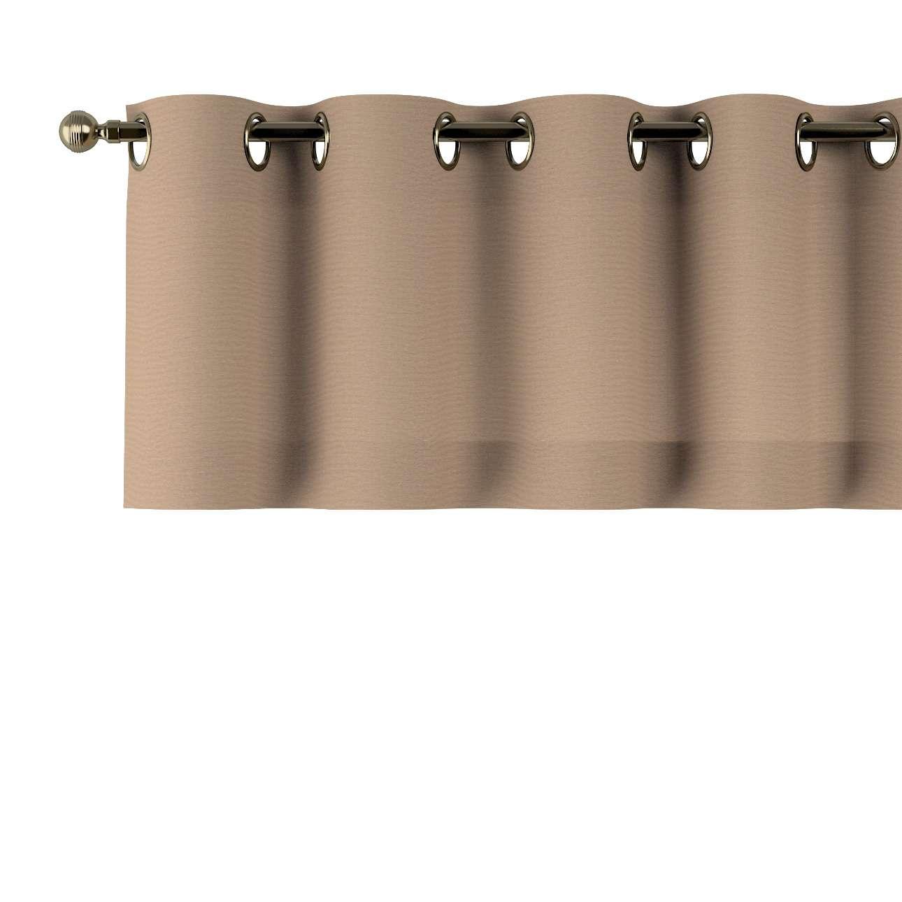 Kurzgardine mit Ösen 130x40cm von der Kollektion Quadro, Stoff: 136-09