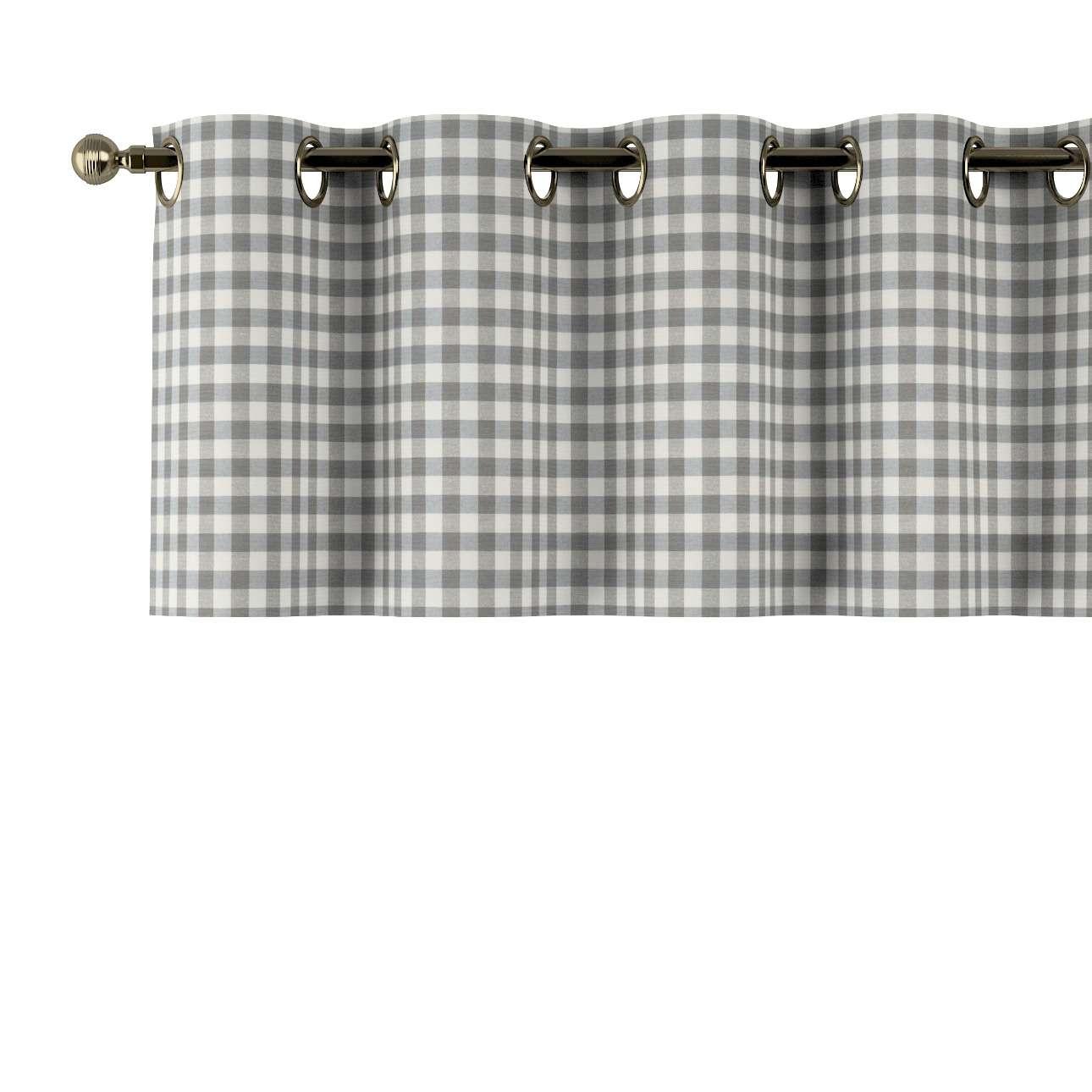 Lambrekin na kółkach 130x40cm w kolekcji Quadro, tkanina: 136-11