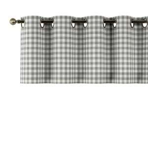 Kurzgardine mit Ösen 130x40cm von der Kollektion Quadro, Stoff: 136-11