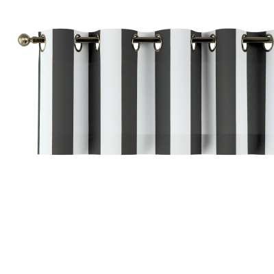 Gardinkappe med maljer