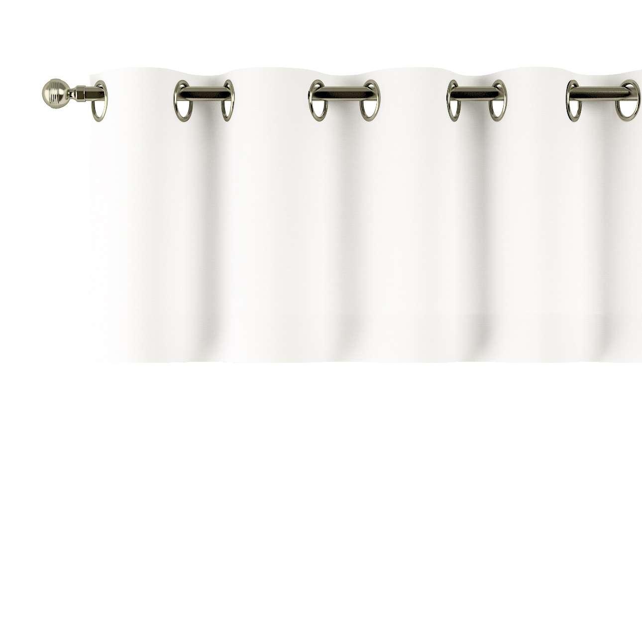 Kurzgardine mit Ösen 130x40cm von der Kollektion Cotton Panama, Stoff: 702-34