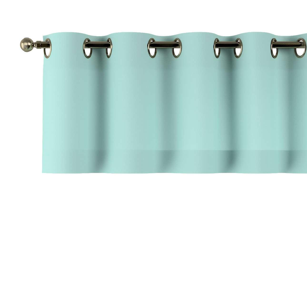 Trumpa užuolaidėlė (lambrekenas) žiedinis klostavimas 130x40cm kolekcijoje Loneta , audinys: 133-32